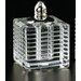 Badash Crystal Pinstripes Salt and Pepper Shaker Set