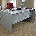 Global Total Office Genoa Executive Desk with Double Pedestal