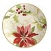 Paula Deen Signature Holiday Floral Salad Plate