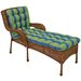 Blazing Needles Haliwall Outdoor Chaise Lounge Cushion