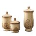 Howard Elliott 3 Piece Decorative Canister Set