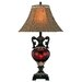 "Lite Source Safara 31.5"" H Table Lamp with Bell Shade"