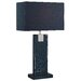 """Lite Source Remigio 24.5"""" H Table Lamp with Rectangular Shade"""