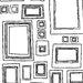 "Graham & Brown Label Frames 33' x 20.5"" Geometric Wallpaper"