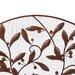Cole & Grey Open Box Price Urban Trends 3 Panel Metal Fireplace Screen in Brown
