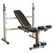 Best Fitness Adjustable Olympic Bench