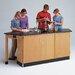 Diversified Woodcrafts Labview 4 Student Workstation With Door