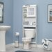 "Sauder Caraway 23.5"" W x 68""H Over the Toilet Cabinet"