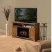 Dimplex Brookings TV Stand with Electric Log Fireplace