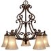 Golden Lighting Loretto 5 Light Nook Chandelier