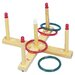Champion Sports Ring Toss Set with 5 Pegs & 4 Rings