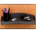 Fellowes Mfg. Co. Plastic Partition Additions Shelf, Surface Area