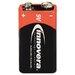 Innovera® Alkaline Battery, 9V, 4/Pack