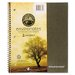 Roaring Spring Paper Products Environotes Wirebound Notebook, 9 x 11, 2 SUBJ, 80 Sheets, College, Assorted