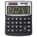 Victor Technology Solar/Battery Minidesk Calculator, 8-Digit Display