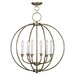 Milania 6 Light Candle Chandelier