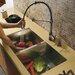 "Vigo 32"" x 19"" Undermount Double Bowl Kitchen Sink with Faucet and Soap Dispenser"