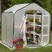 Flowerhouse Springhouse 6 Ft. W x 6 Ft. D Polyethylene Greenhouse
