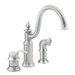 Moen Waterhill Single Handle Widespread Bar Faucet with Side Spray