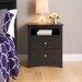 Prepac Sonoma 2 Drawer Nightstand