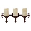Capital Lighting Mediterranean 3 Light Bath Vanity Light