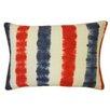 Jiti Bright and Fresh Bands Cotton Lumbar Pillow