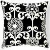 Jiti Floret Silk Throw Pillow