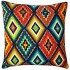 Jiti Aztec Cotton Throw Pillow