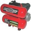 North American Tools IND 4 Gallon Twin Oil Air Compressor