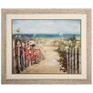 Propac Images Summer Ride Crop Framed Painting Print