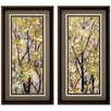 Propac Images Texture Summer 2 Piece Framed Painting Print Set