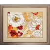 Propac Images Lush Crimson I Framed Painting Print