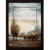 Propac Images Return Open Glow I Framed Painting Print