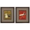 Propac Images Wash Iron 2 Piece Framed Graphic Art Set