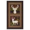 Propac Images Southwest Lodge Deer Framed Painting Print