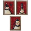 Propac Images Frosty 3 Piece Framed Graphic Art Set