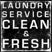 PTM Images Laundry Service Framed Textual Art