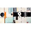 PTM Images Geometric Shapes Painting Print on Wrapped Canvas