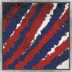 PTM Images Jet Trails I Floater Framed Painting Print on Wrapped Canvas