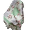 Textiles Plus Inc. Quilted Spring Throw Blanket
