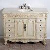 "Global Treasures Durham 48"" Single Bathroom Vanity Set"