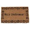 Imports Decor Creel Nice Underwear Doormat