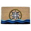 Imports Decor Creel Compass Doormat