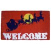 Imports Decor Santa's Sleigh Doormat