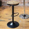 LumiSource Dakota Adjustable Height Swivel Bar Stool