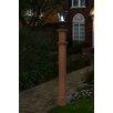 "New England Arbors Charleston 74"" Composite Lamp Post"