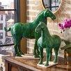 Tozai 2 Piece Han Dynasty Horses Figurine Set