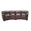 Canyon Left Leather Sofa