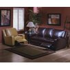 Omnia Furniture Mirage Reclining Leather Living Room Set