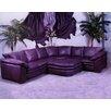 Omnia Furniture Fargo Leather Sectional